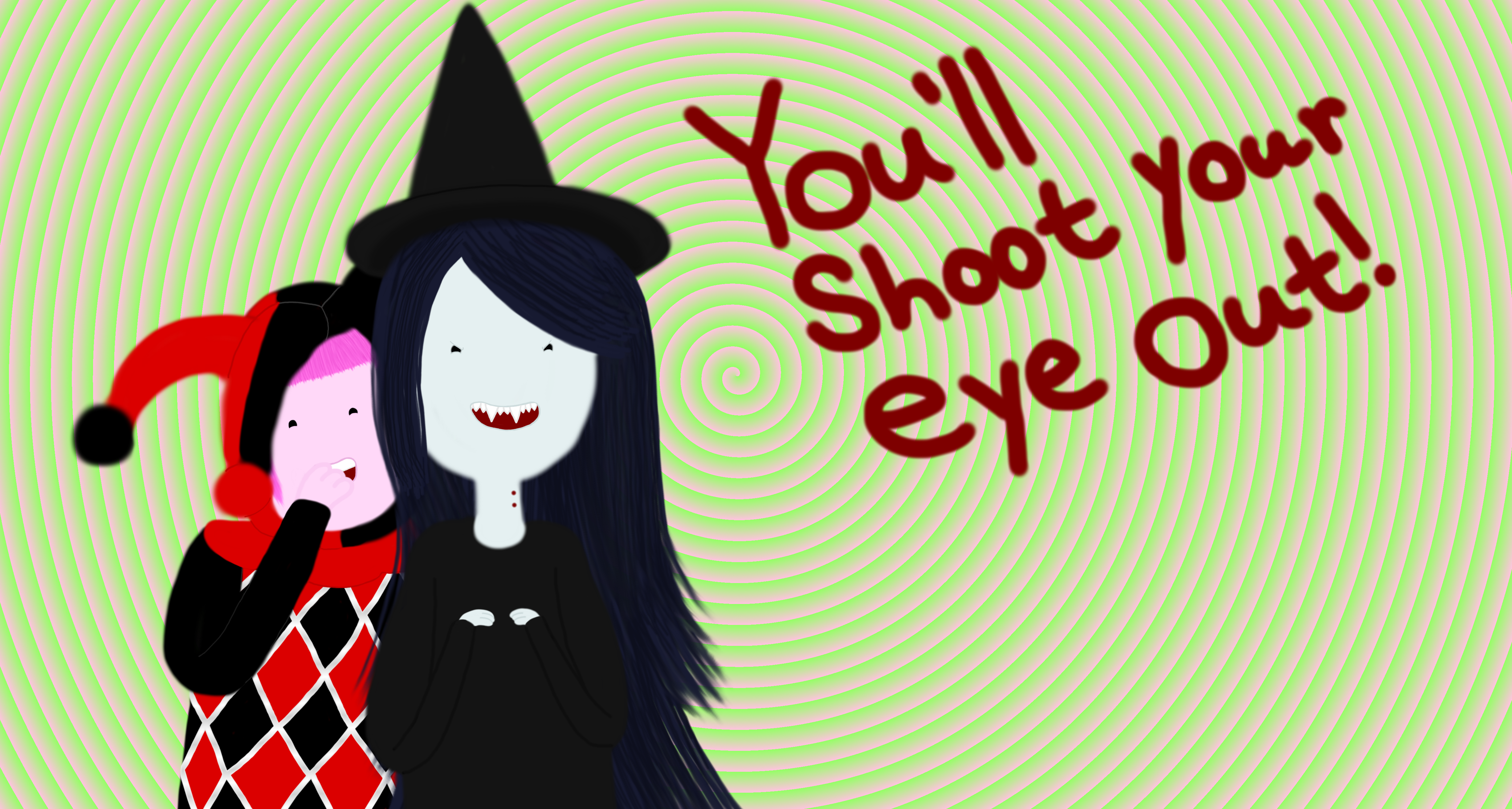 You'll Shoot Your Eye Out, Finn! By AquaSeashells On