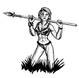Fantasy Ink: Warrior Girl