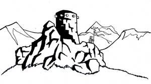 Fantasy Ink: Fortified Broch