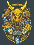 Golden TriceraPod