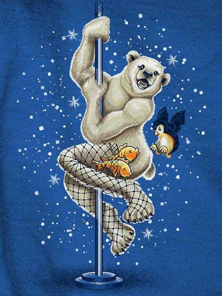 FishNet Polar Bear by bogielicious
