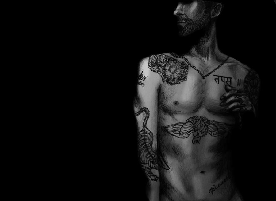 Adam Levine by Lutesreves on DeviantArt