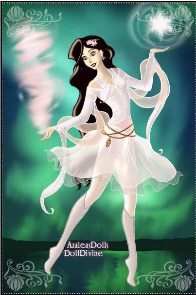 Magical Girl Website Design