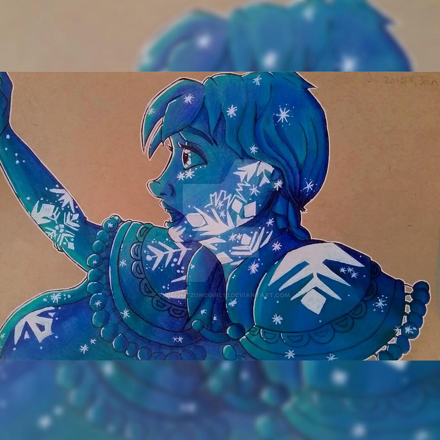 Disney's Frozen Anna by Twilightzonegirl13