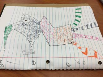 School Doodles #1 by ZeroFighter99