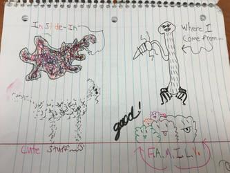 School Doodles #2B by ZeroFighter99
