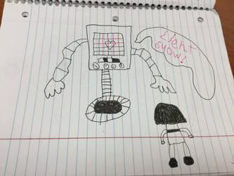School Doodles #3 by ZeroFighter99