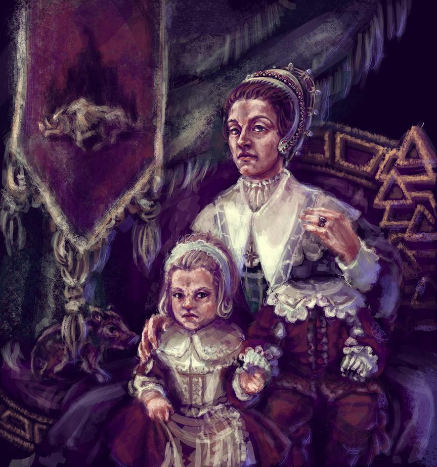 The Ockdells Family by KemonoKage