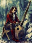 The Musician by KemonoKage