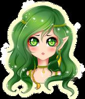 Green Elf by shinekoshin