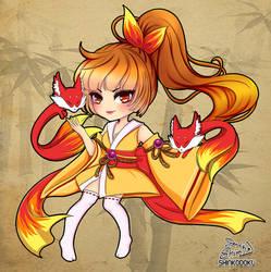 Fire Mage by shinekoshin