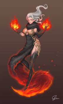Raven the Fire Mage