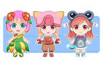 Pokemon Chibi Girls