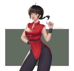 Female Ranma Fanart