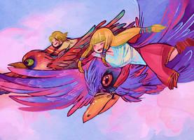 The Legend of Zelda by whateveridek