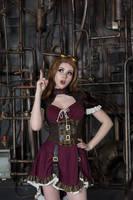 Steampunk Girl by AnastasiaKomori