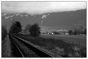 Raillway Mt Cheam by grubbyboy
