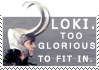 Glorious Loki by Stamp-Attack