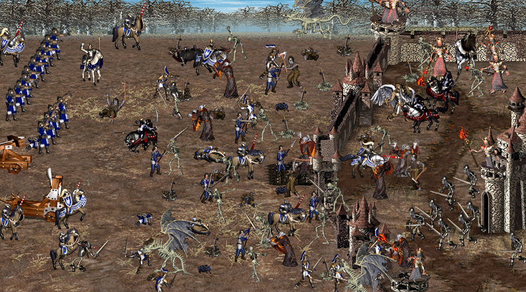 heroes of might and magic iii real battle by connybengtsson on