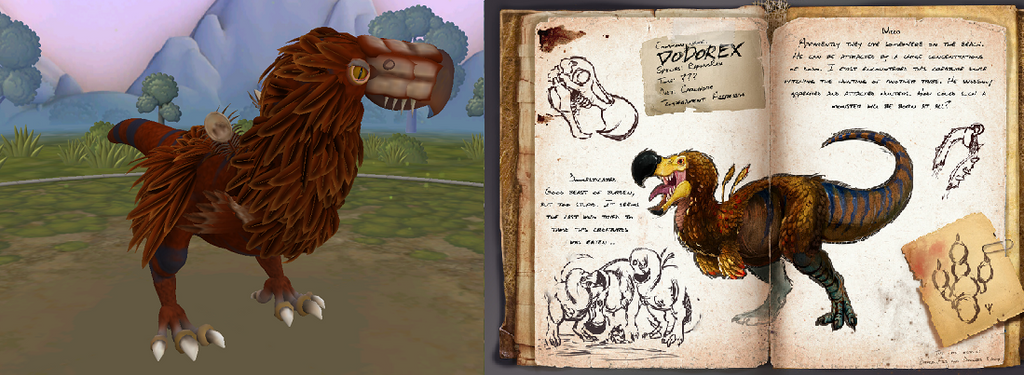 Spore Dodorex (from Ark survival evolved) by Marmotte5280