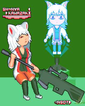 Planned game protagonists (3/3) Sh-Nya Kawazaki