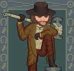 Resident evil VIllage Karl Heisenberg by NeverStepD7