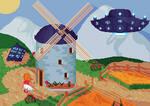 Windmill by NeverStepD7