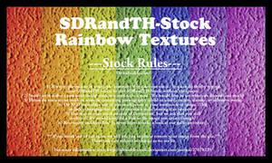 Rainbow Textures 01 Stock