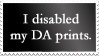 Disabled Prints Stamp 01 by SDRandTH-Stock