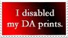 Disabled Prints Stamp 02 by SDRandTH-Stock