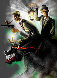 The Hound of the Baskervilles by creepingman