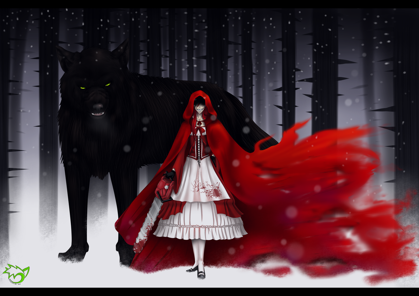 various version of the old tale little red riding hood In asia, great aunt tiger is a very old story found in various  this version has the little  andrew lang included a variant of the red riding hood tale,.