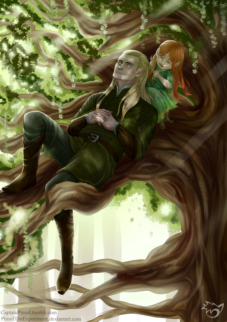 .: Calm Mirkwood :. by PinselTheExperiment