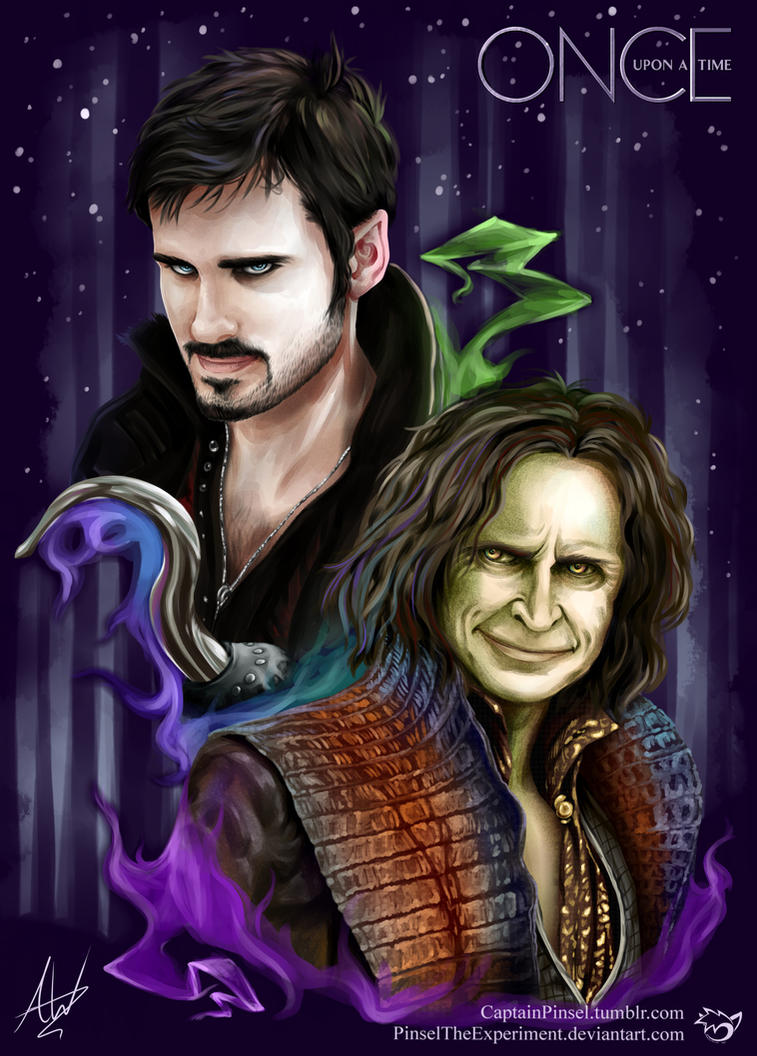 .: Rumpelstilskin and Captain Hook :. by PinselTheExperiment