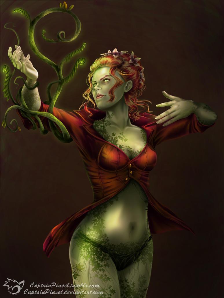 .: Batman Arkham Knight - Poison Ivy :. by CaptainPinsel