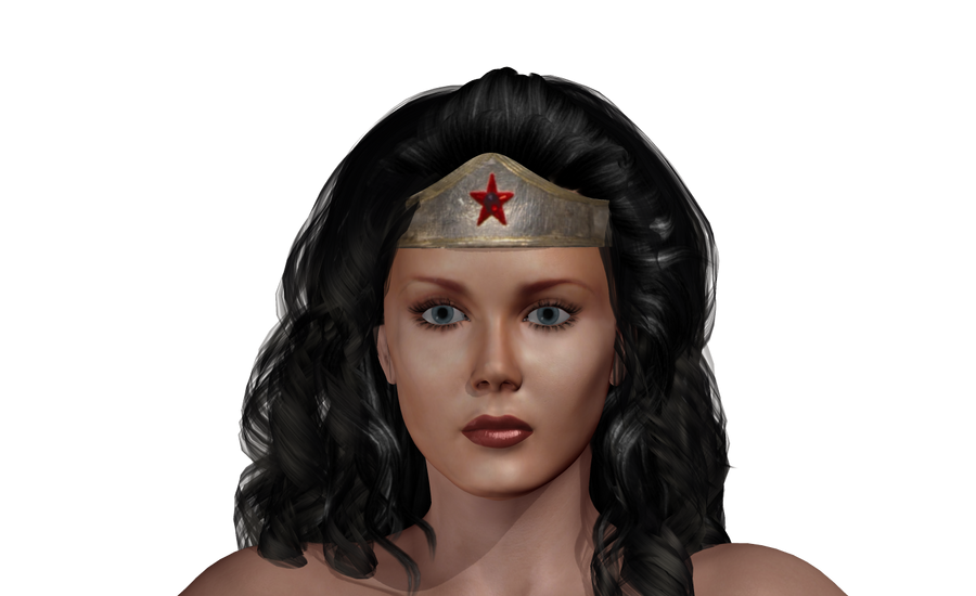 wonder woman WIP by qaz-art