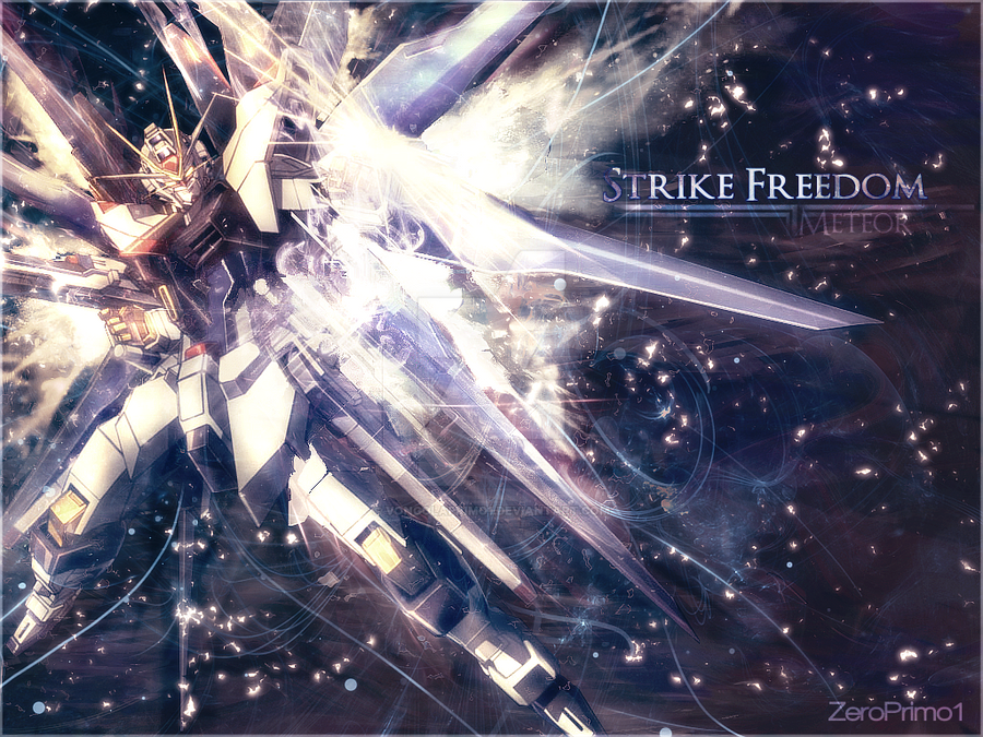 Strike Freedom Meteor By Vongolaprimo1 On Deviantart