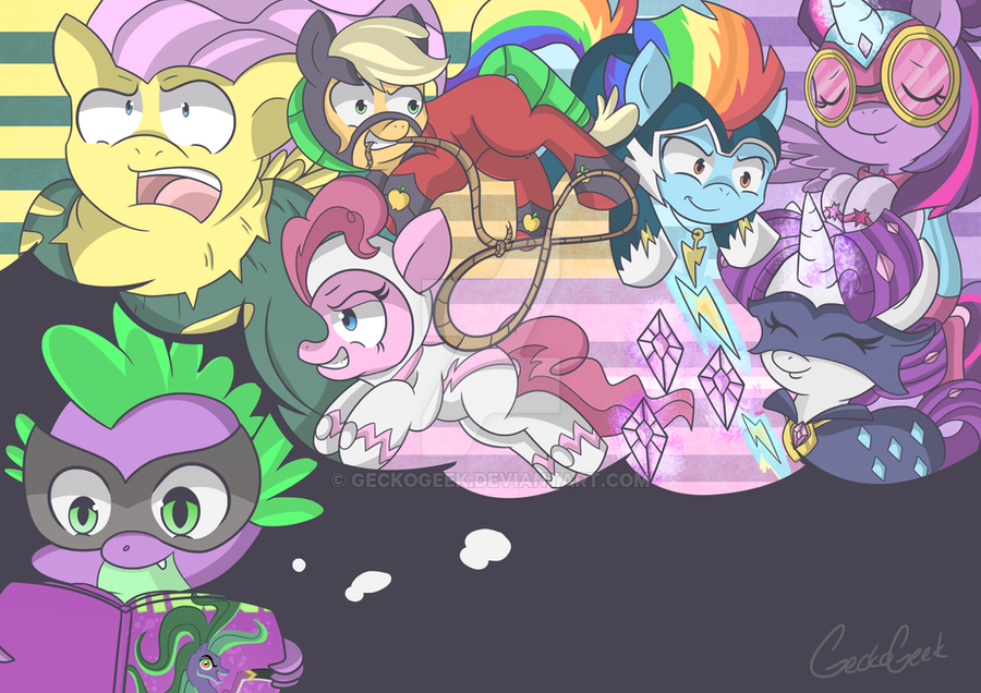 Ones imagination by GeckoGeek