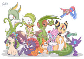 Zirocoh Pokemon Team by GeckoGeek
