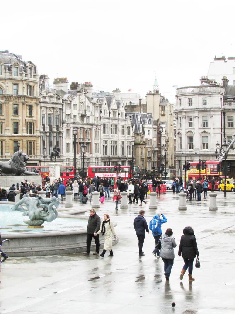 Trafalgar Square by charlottetwidale