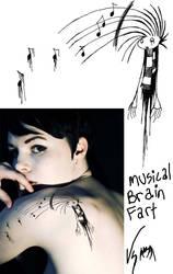 Brain Fart tattoo design by Horace-Bulregard