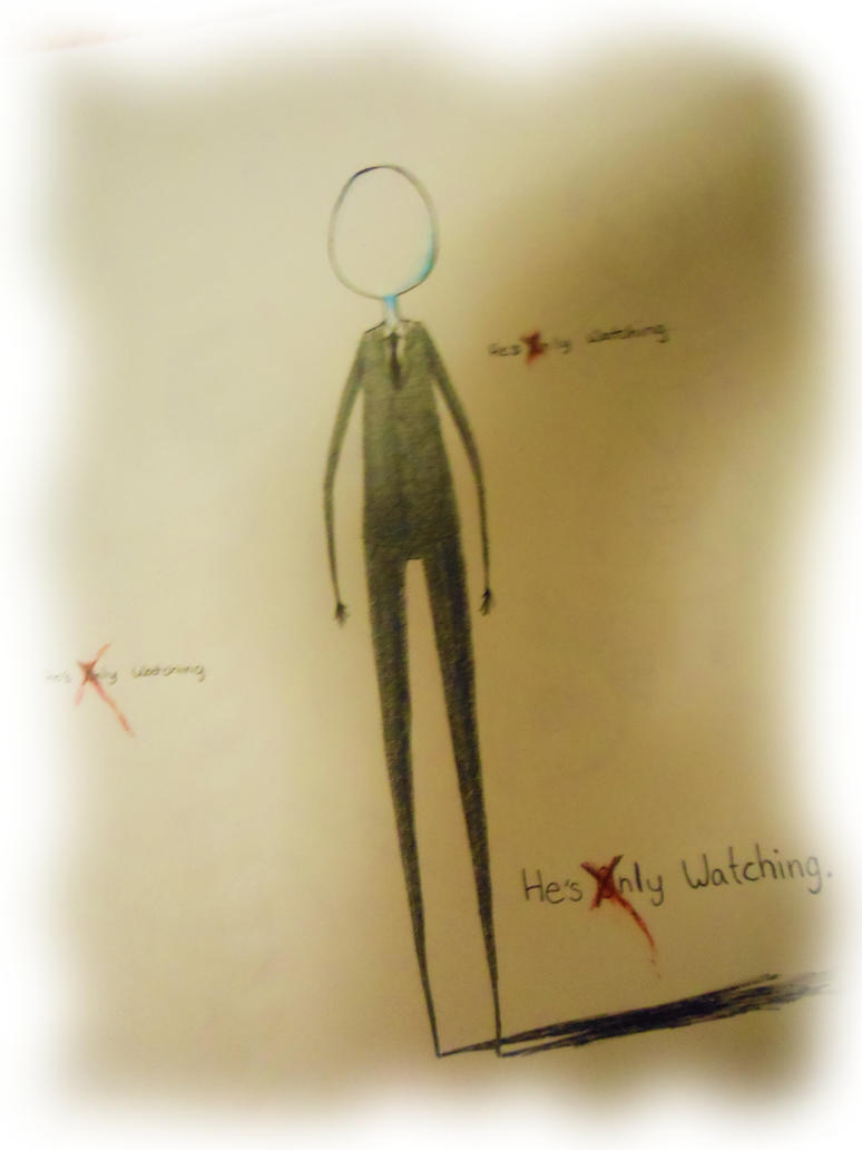 how to know if slenderman is watching you