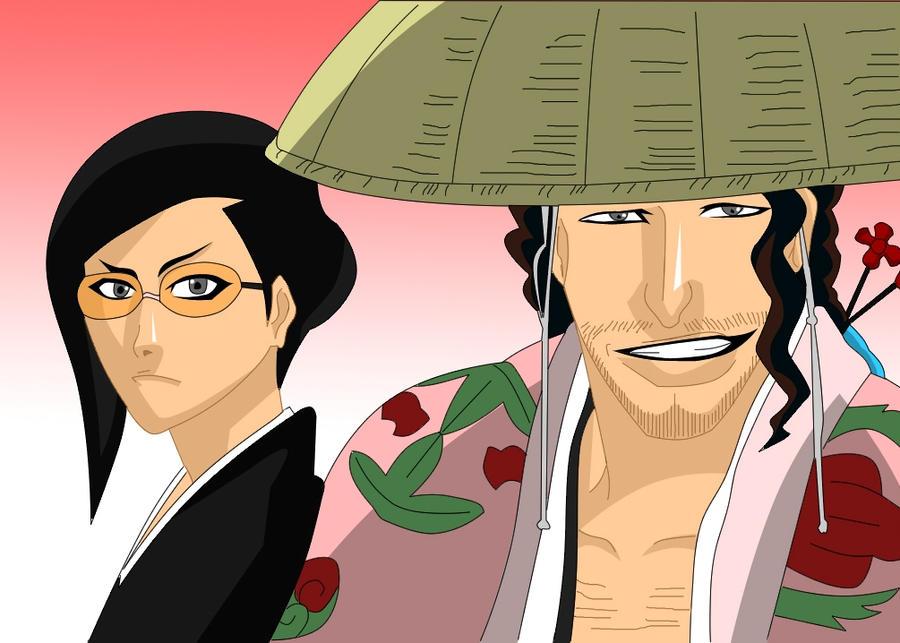 shunsui and nanao relationship