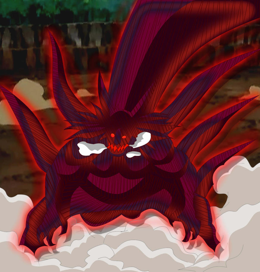 Kyuubi Jinchuuriki Kinkaku kyuubi form by...