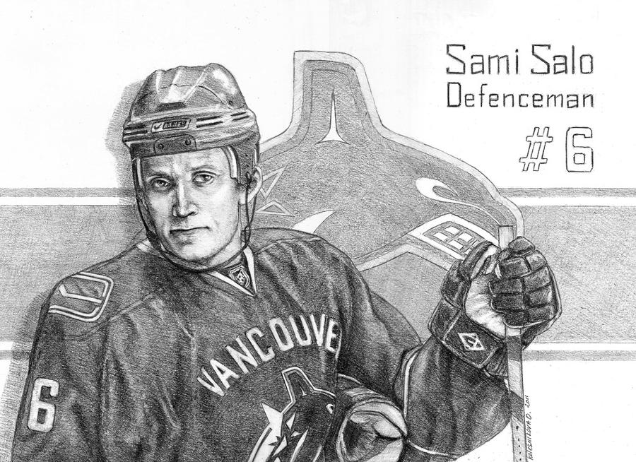 Sami Salo by IcedWingsArt