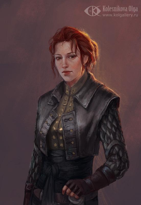 Miledy Trevelyan (Commission) by IcedWingsArt
