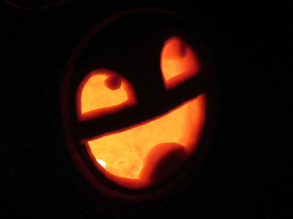 Awesome face pumpkin carving lit by thedocproc on deviantart