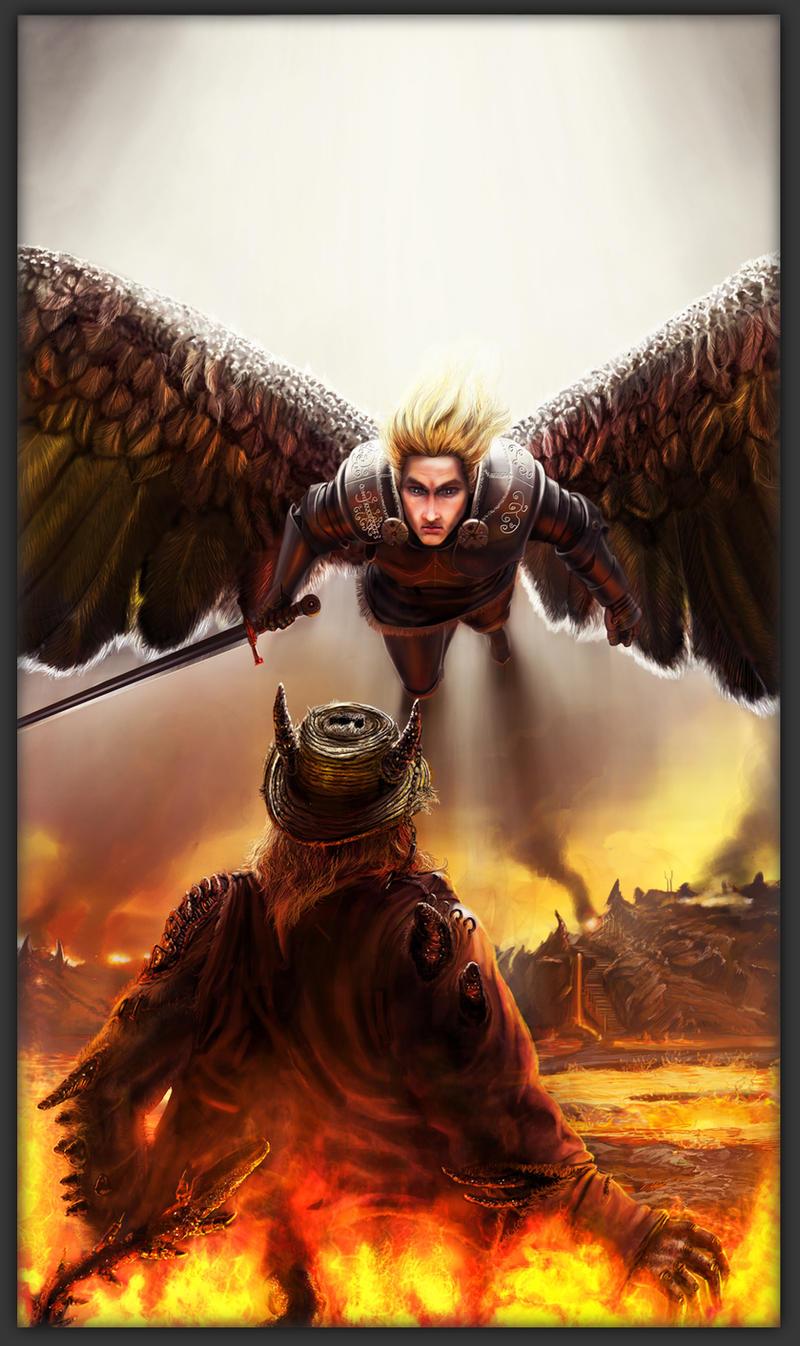An Angel's Sacrifice by Kromnz
