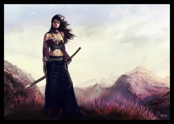 Fantasy Knight by AldoMartinezC