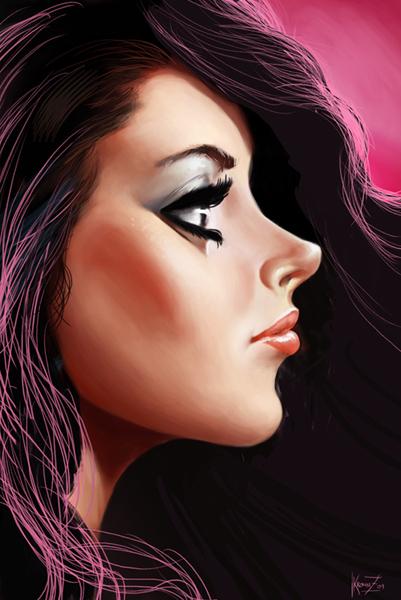 Girl by Kromnz